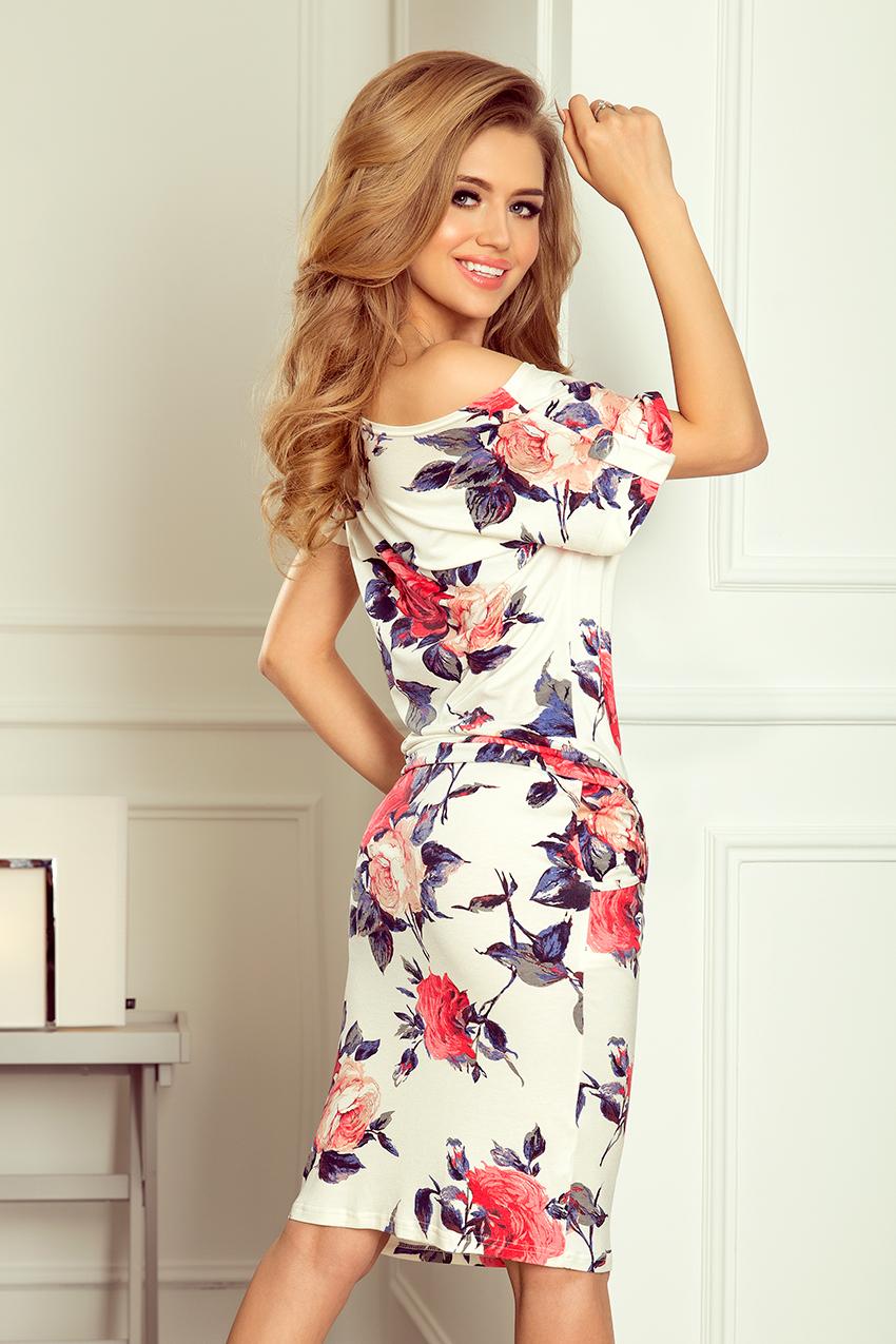 ... Dámské sportovní šaty s květy NUMOCO® bílá empty c8844df95f