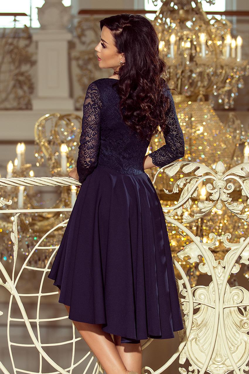 488721cac2dc ... Dámské šaty s asymetrickou sukní NICOLLE modrá empty