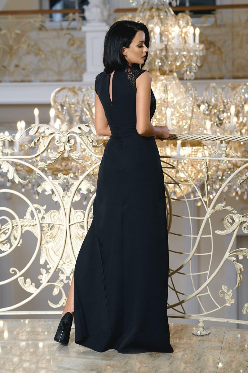 8bf196ee64d2 Dámské společenské dlouhé šaty URHO černá Dámské společenské dlouhé šaty  URHO černá empty