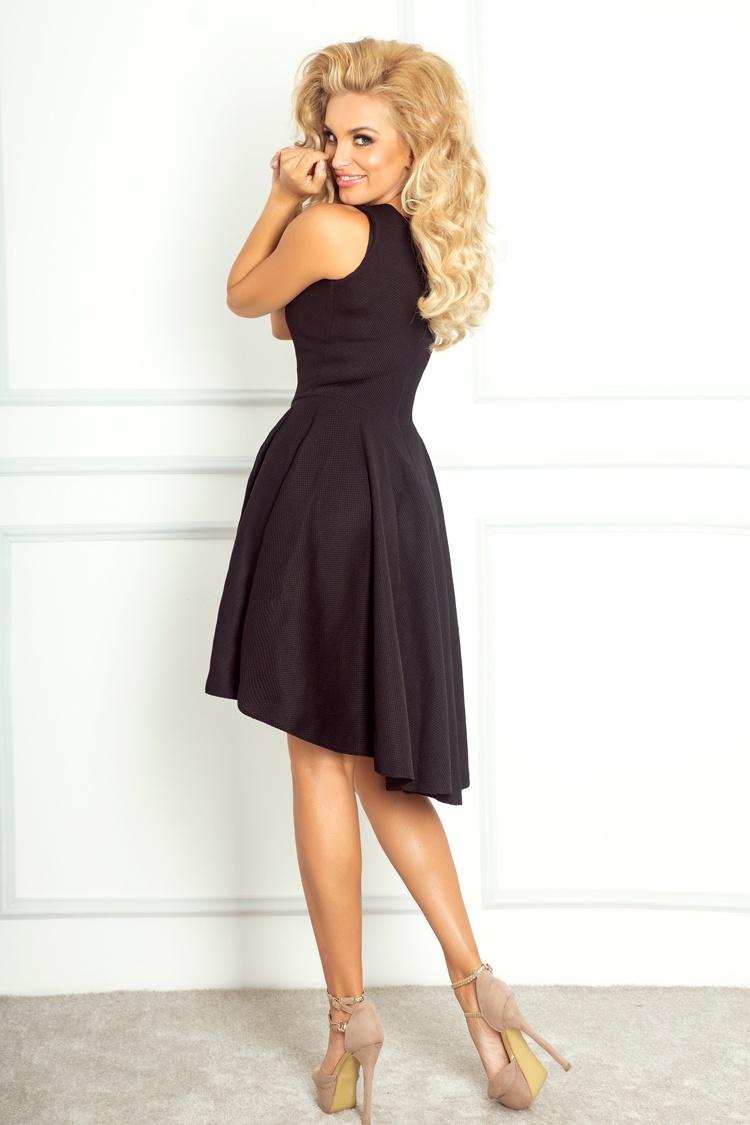 ... Dámské šaty s asymetrickou sukní NUMOCO 66-2 černá empty 530eb9abe4b