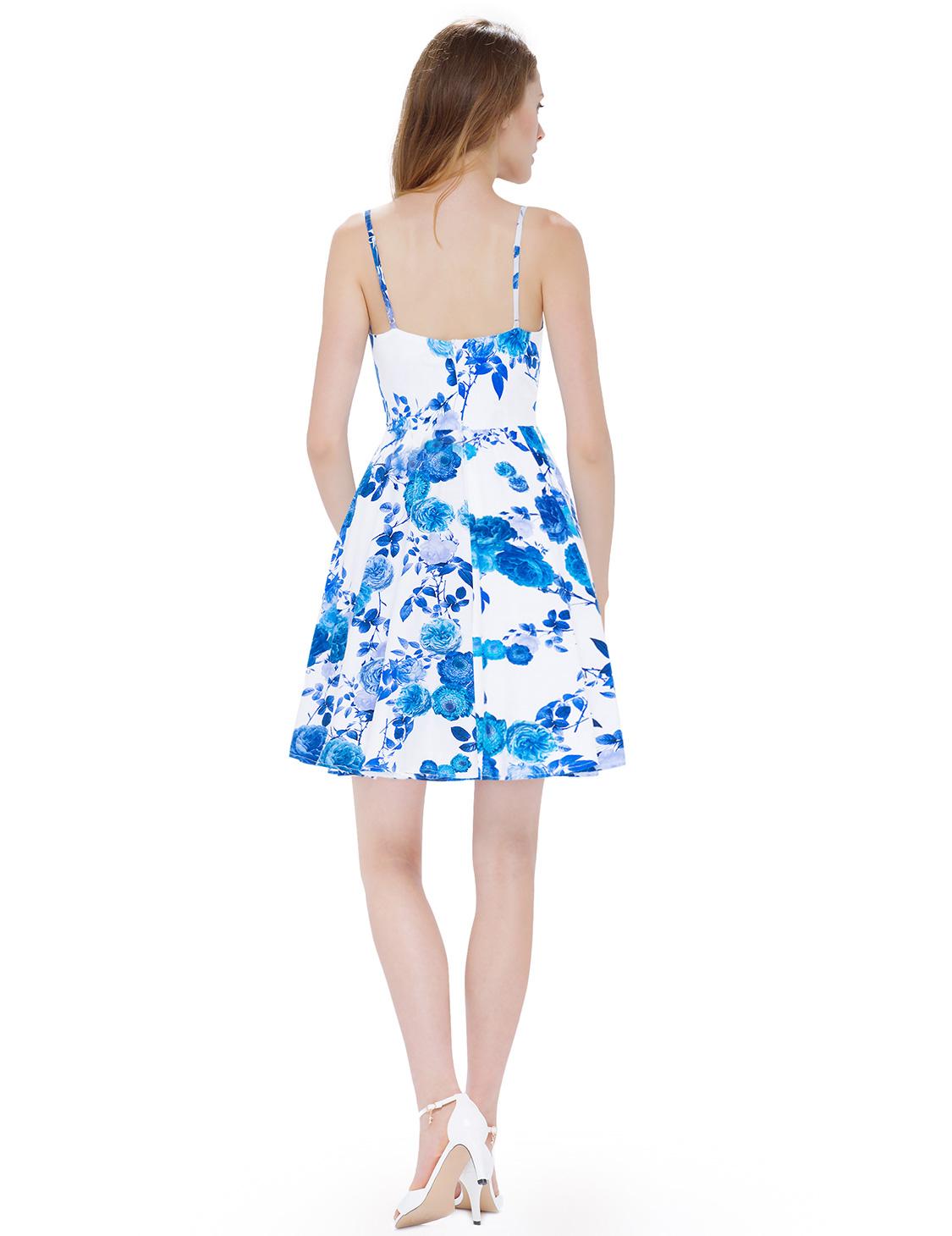 47f2e38e138a Dámské letní krátké šaty JOLIE modrá Dámské letní krátké šaty JOLIE modrá  empty