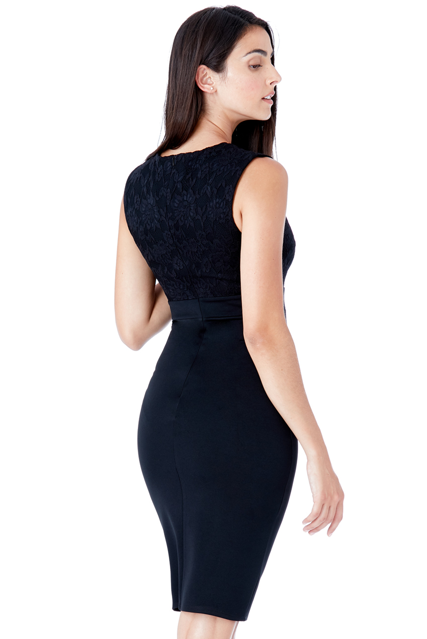 Dámské společenské krátké šaty černé Dámské společenské krátké šaty černé  empty 85f9f403a5