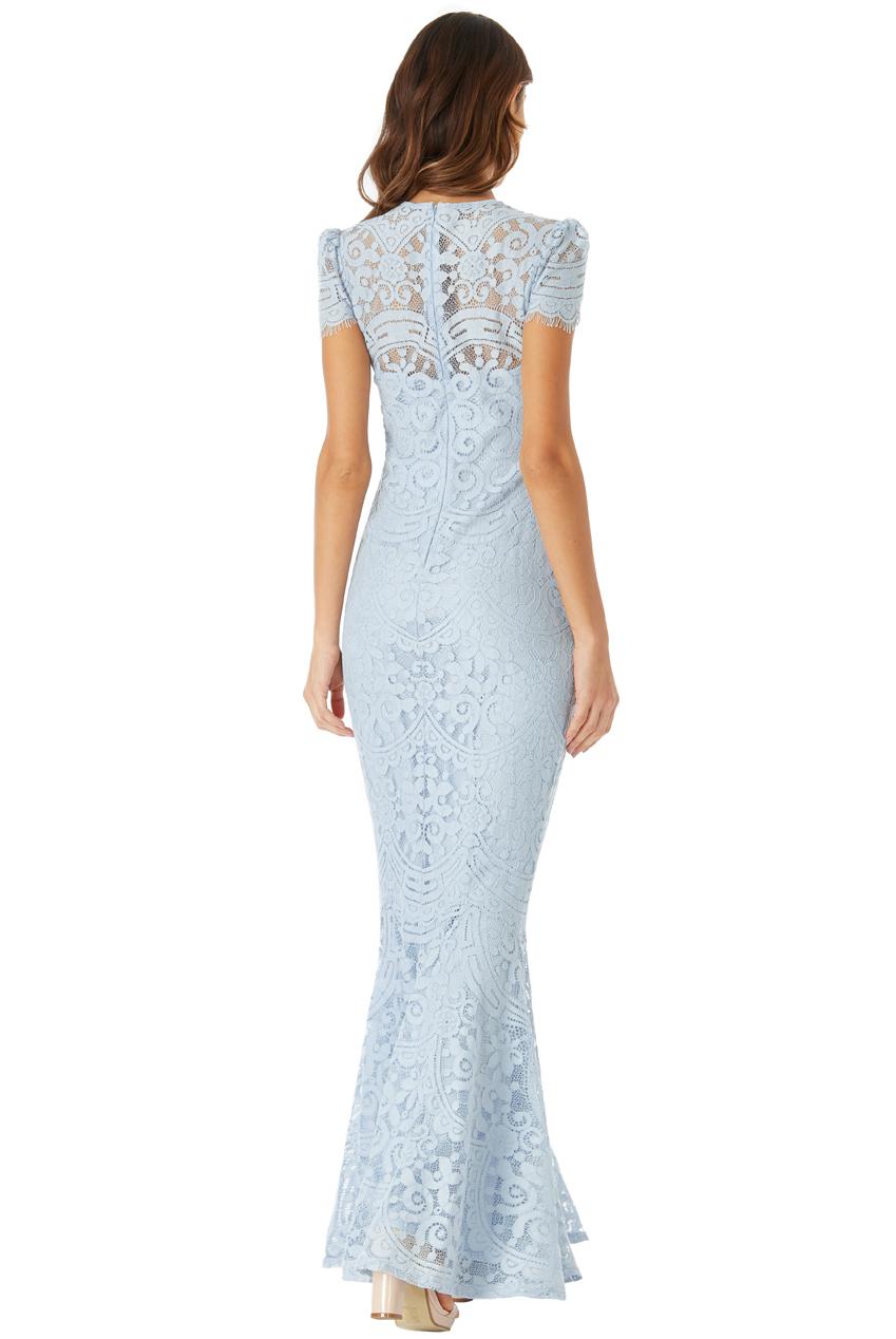Dámské krajkové společenské šaty SUSSI modrá Dámské krajkové společenské  šaty SUSSI modrá empty 84a738d79e