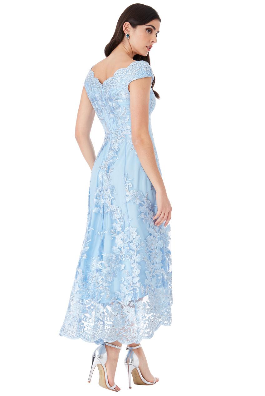 Společenské krajkové asymetrické šaty Společenské krajkové asymetrické šaty  empty 2c96f00171