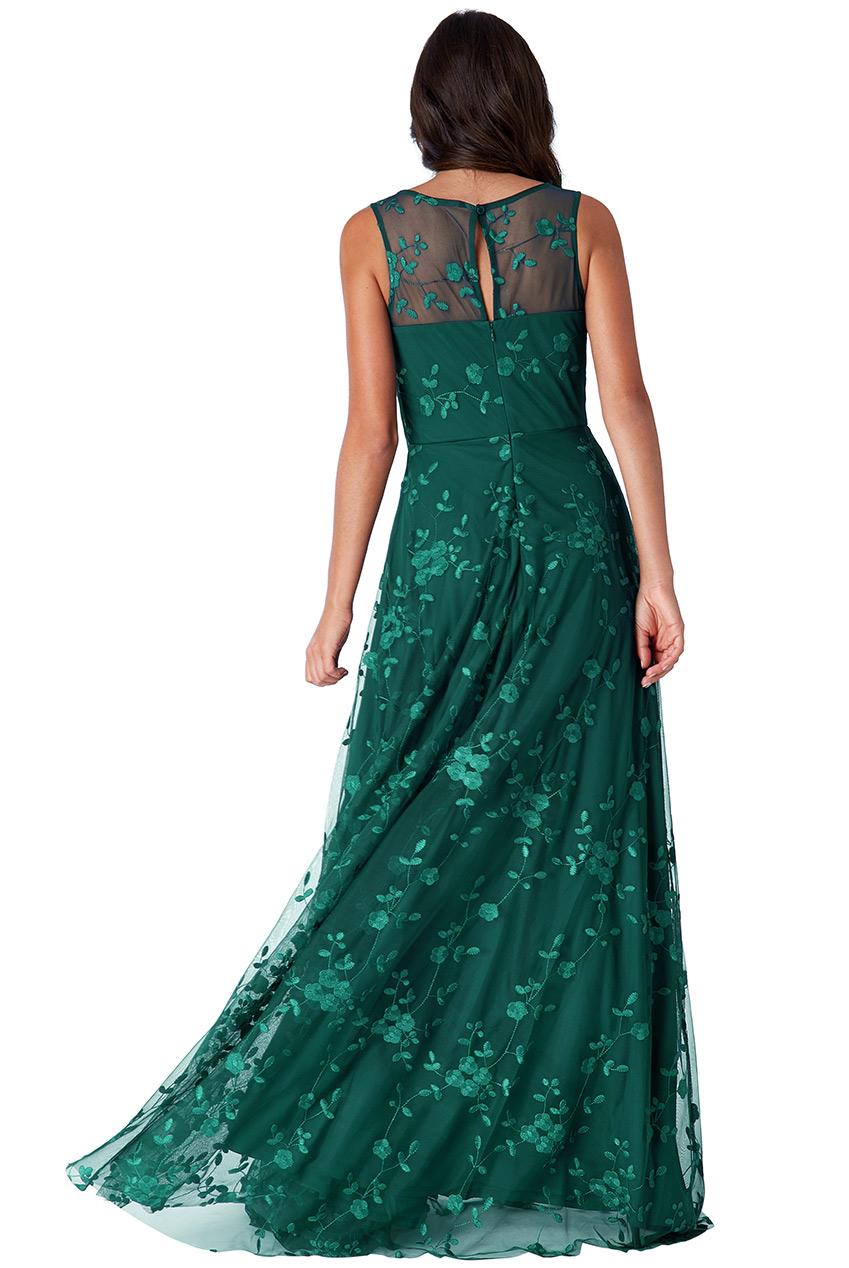 5b563d109fb9 Dámské dlouhé společenské šaty zelená Dámské dlouhé společenské šaty zelená  empty
