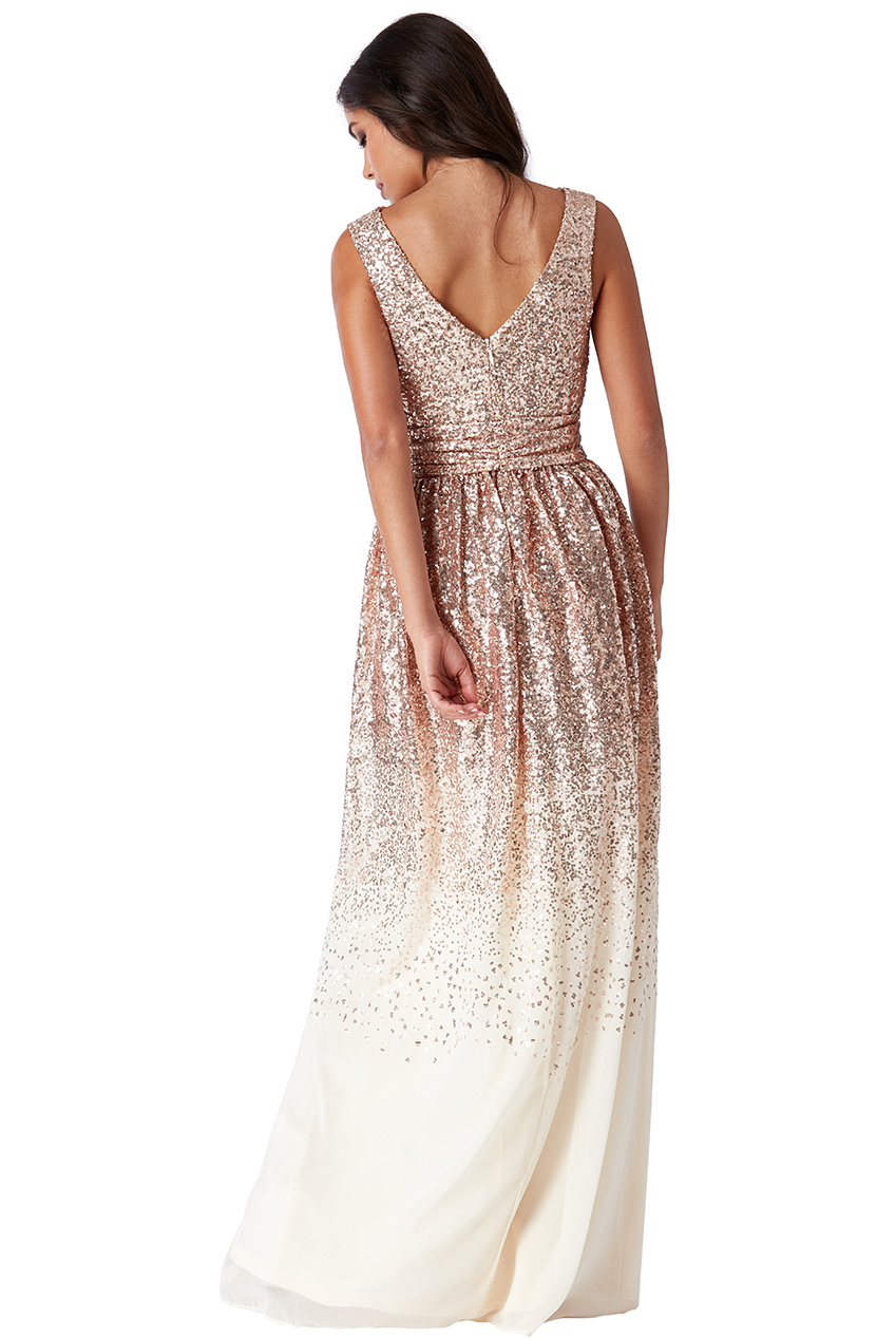 28cc4733da4b Dámské večerní dlouhé šaty s flitry Dámské večerní dlouhé šaty s flitry  empty