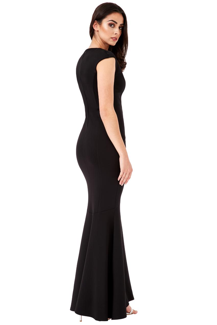 Dámské společenské dlouhé šaty s ozdobou Dámské společenské dlouhé šaty s  ozdobou empty 355df56a93