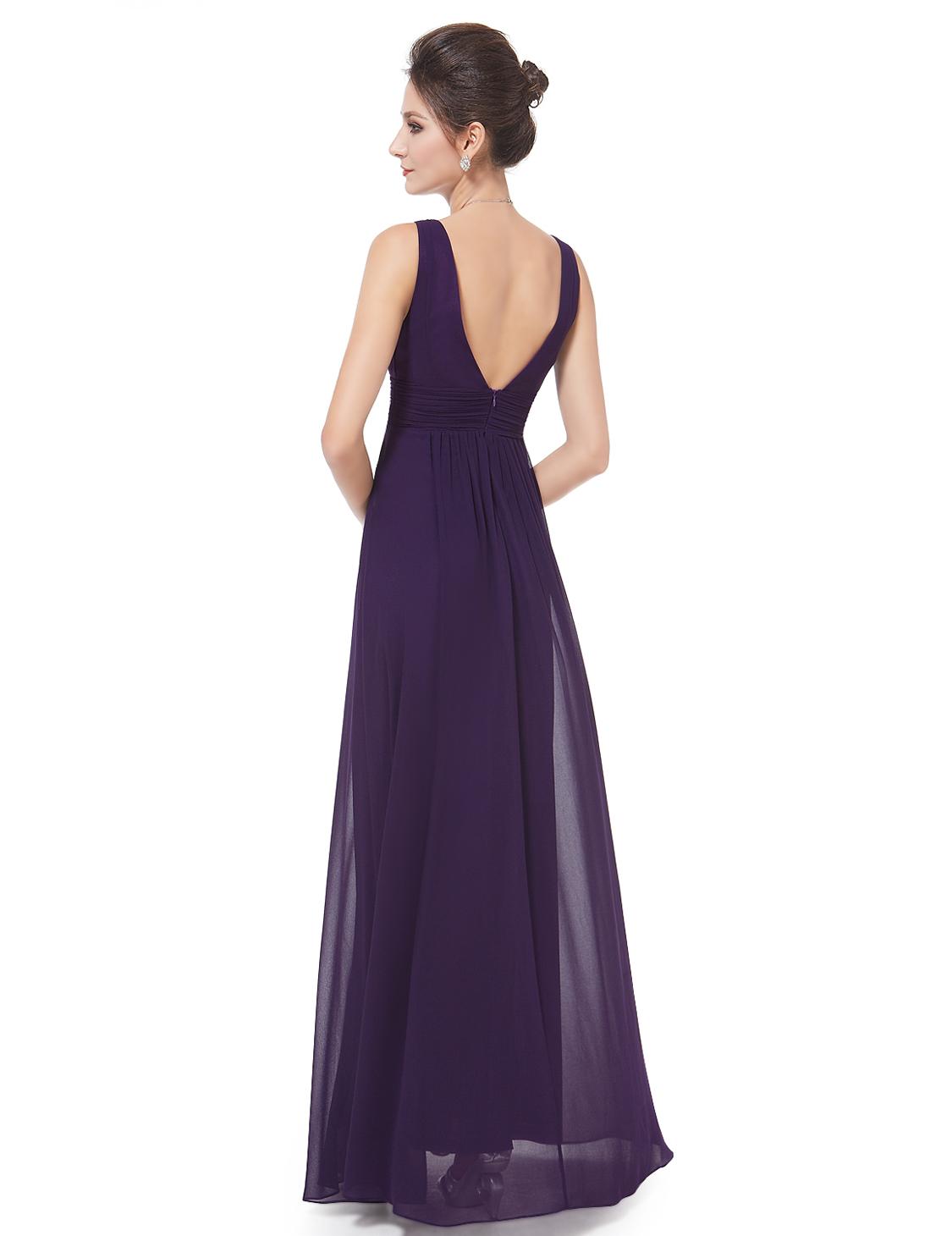 ... Ever Pretty plesové dlouhé šaty 9016 fialová empty beb15cb03b6