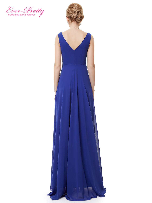7f32fae64684 ... Ever Pretty plesové a společenské šaty modrá empty