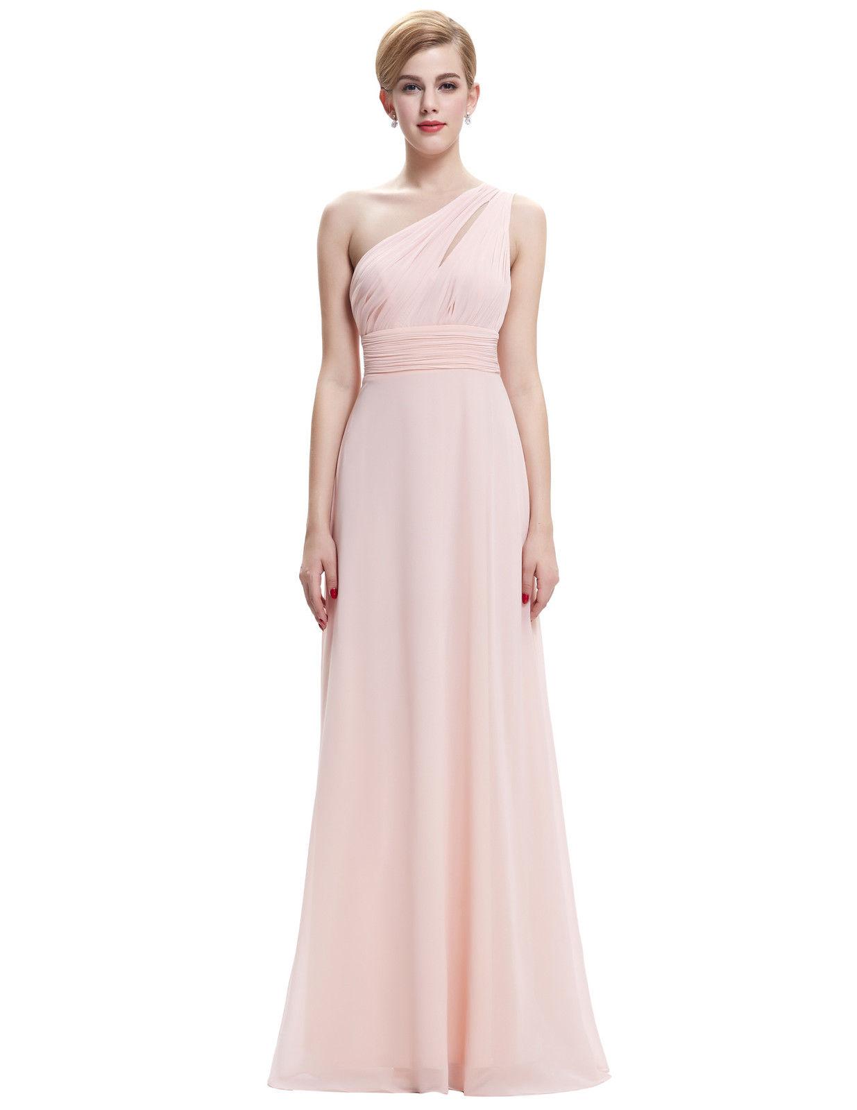 5038cce053f9 Společenské dlouhé šaty na jedno rameno růžová