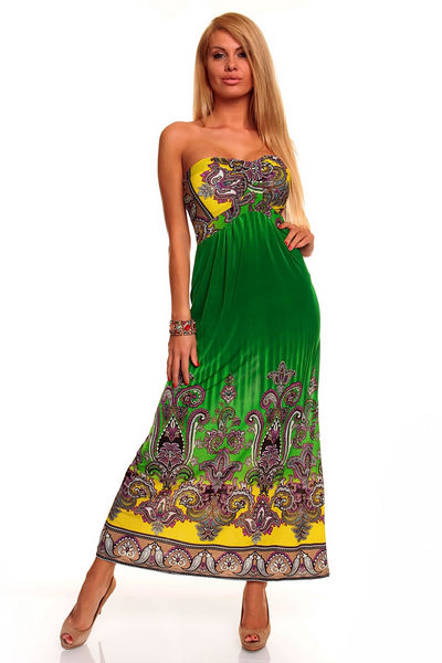 Dámské letní dlouhé šaty (Dámské šaty)