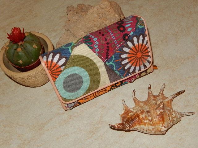 Dámská patchwork peněženka (Dámská peněženka)