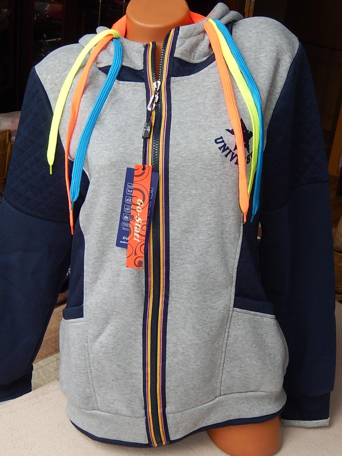 Dámská mikina s kapucí - šedá 5978620547