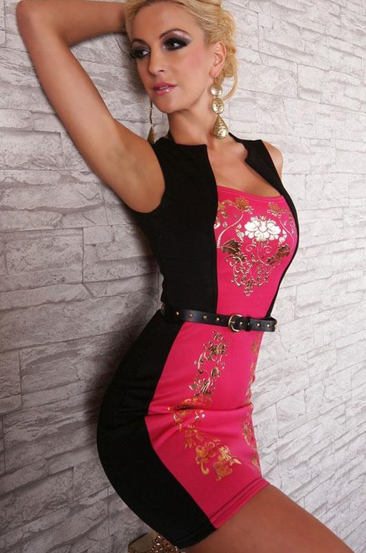 Dámské sexy mini šaty f8d96a5cbc