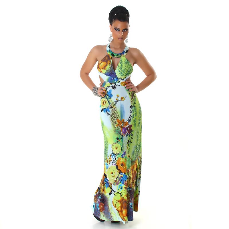 Dámské letní dlouhé šaty Panacher 36e7a6541a