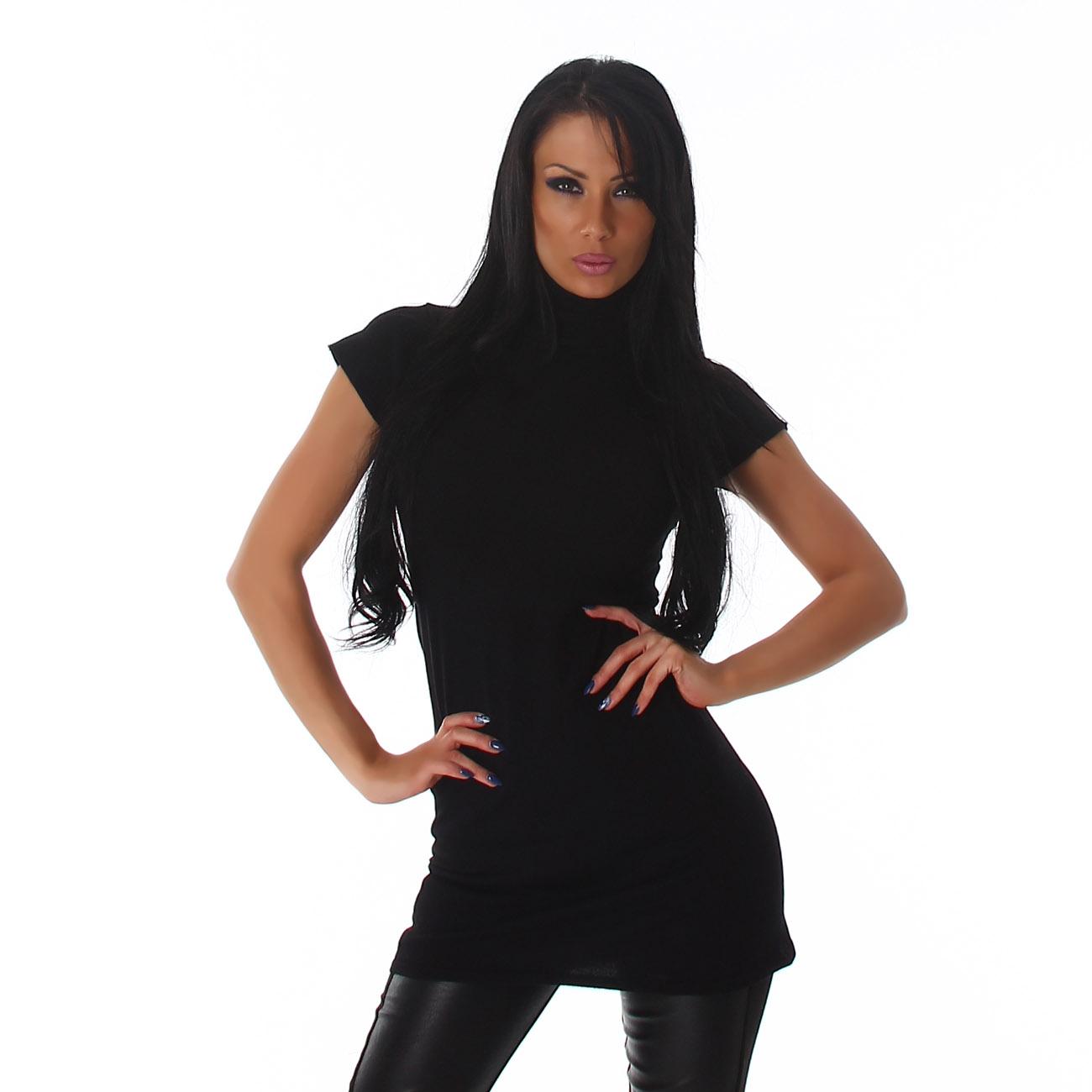Dámské šaty s rolákem (Dámské šaty)