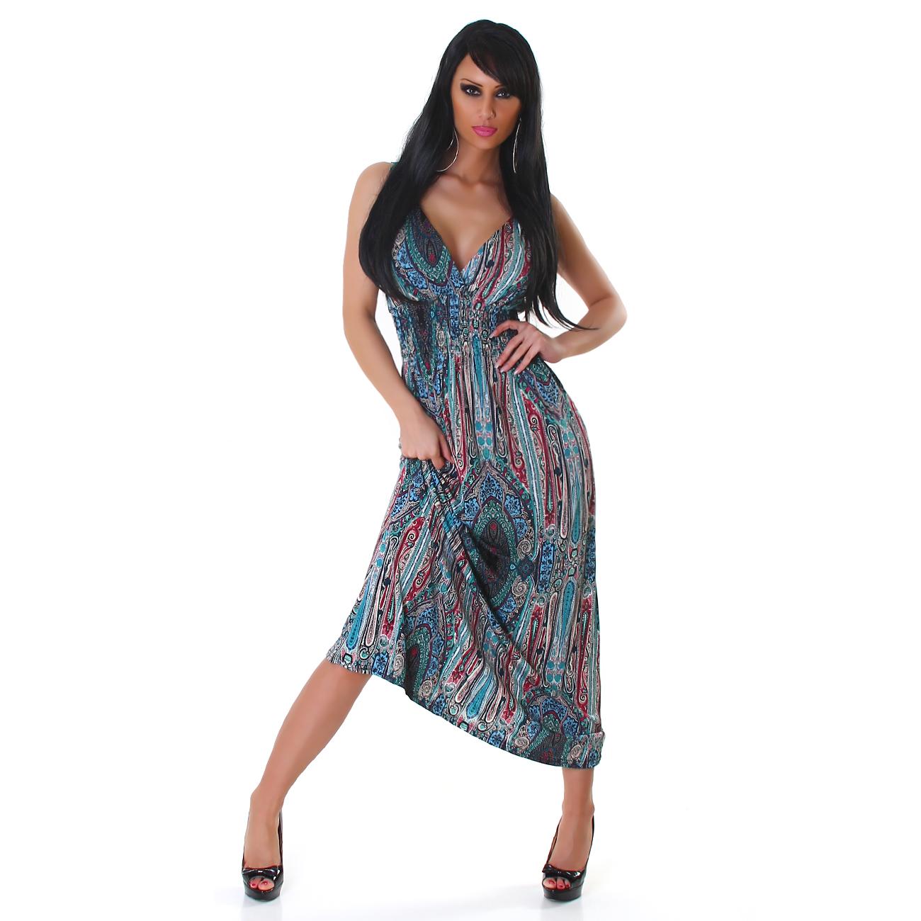 Dámské letní dlouhé šaty GRAFFITH 51246c4b25