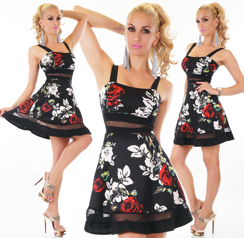 95e645076e4 Dámské šaty s květinovým vzorem