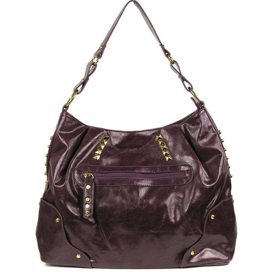 LS fashion dámská kabelka LS0016 fialová 65109f27b4f