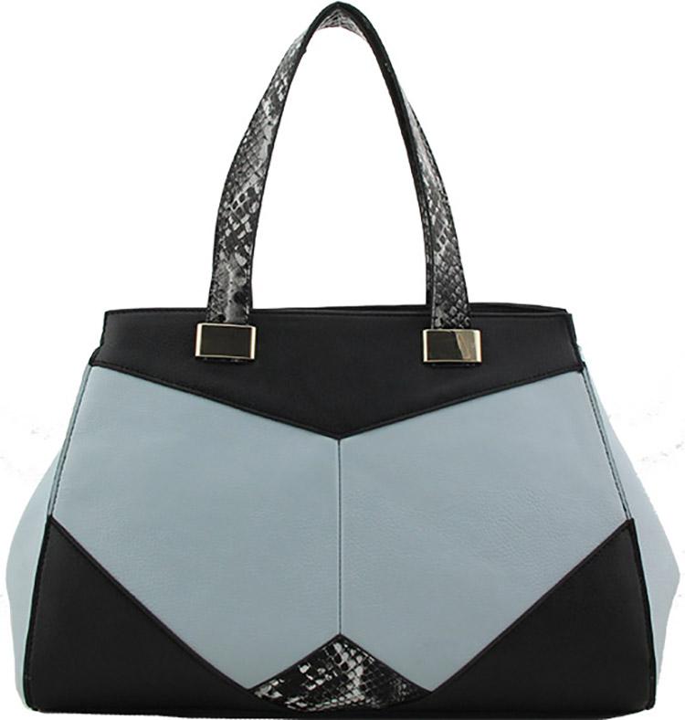 Handbags dámská kabelka 2347 modrá (Dámská kabelka)