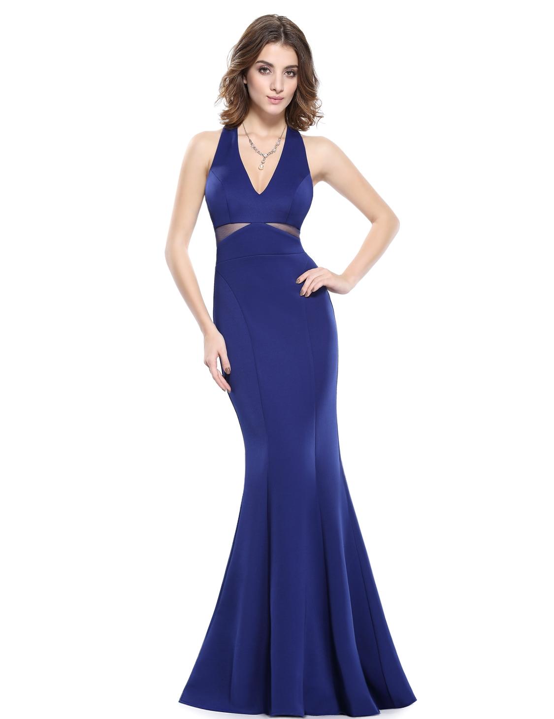 Ever Pretty plesové a společenské šaty modrá f8161e3f63