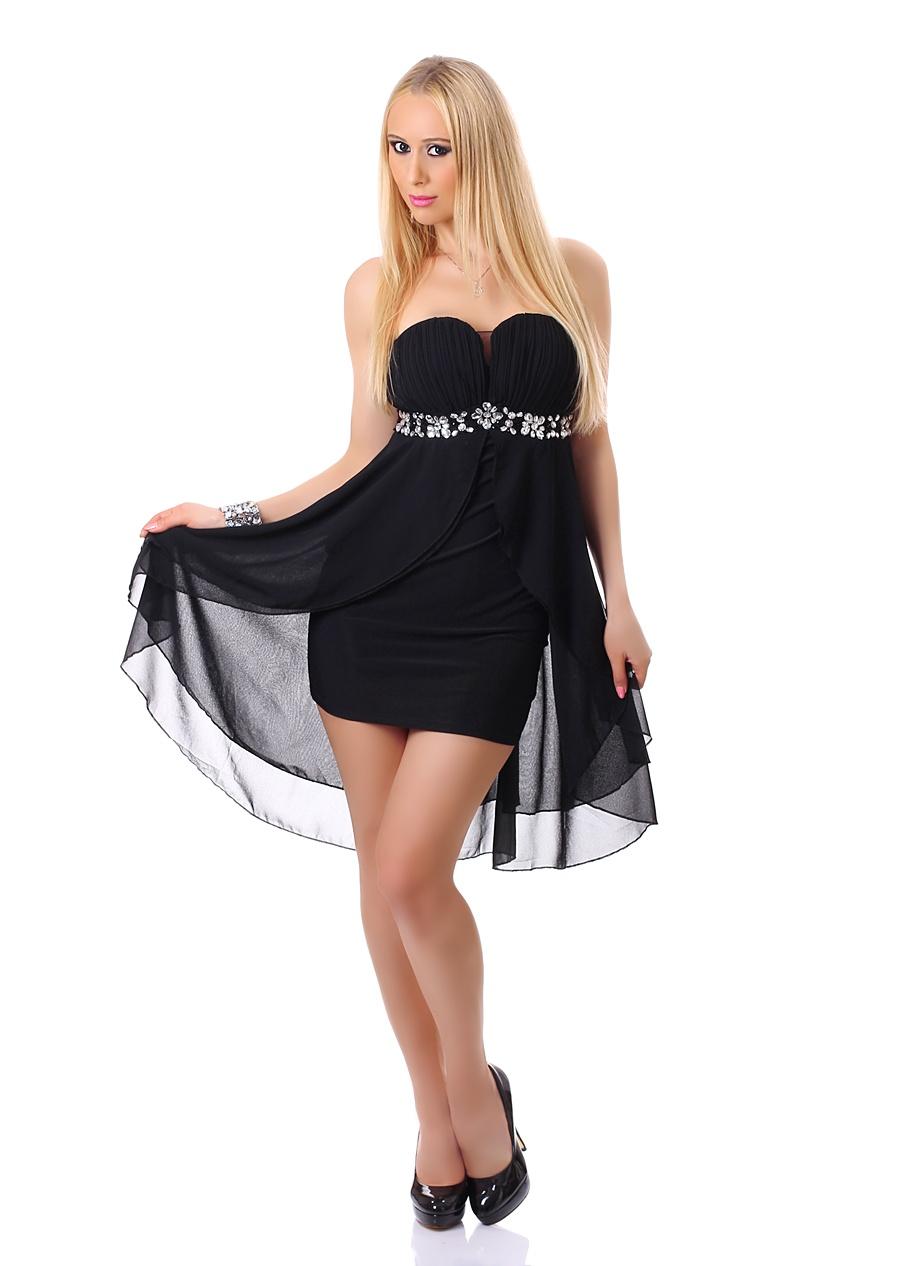 Dámské plesové a společenské šaty černá S M 59aad251019