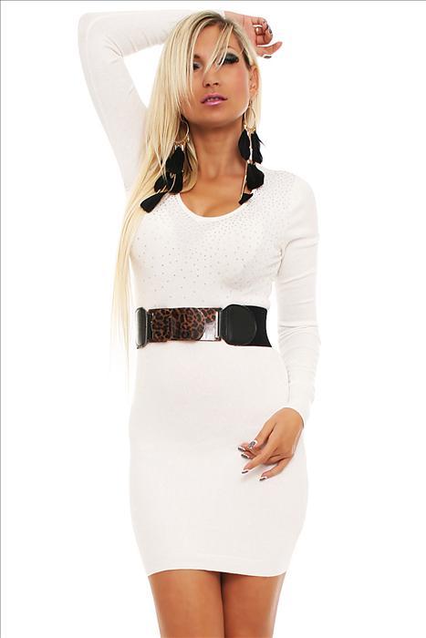 Dámské úpletové šaty Estelle Fashion 2. jakost 40ad56de0d
