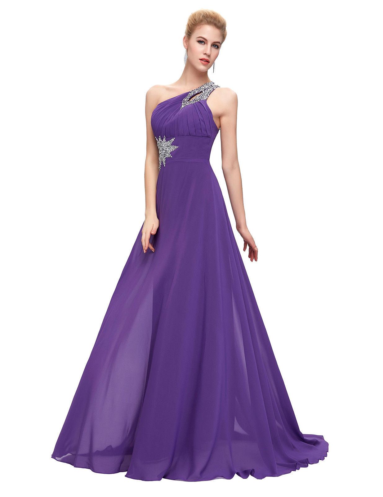 d63d92eef3db Luxusní plesové a společenské šaty fialová