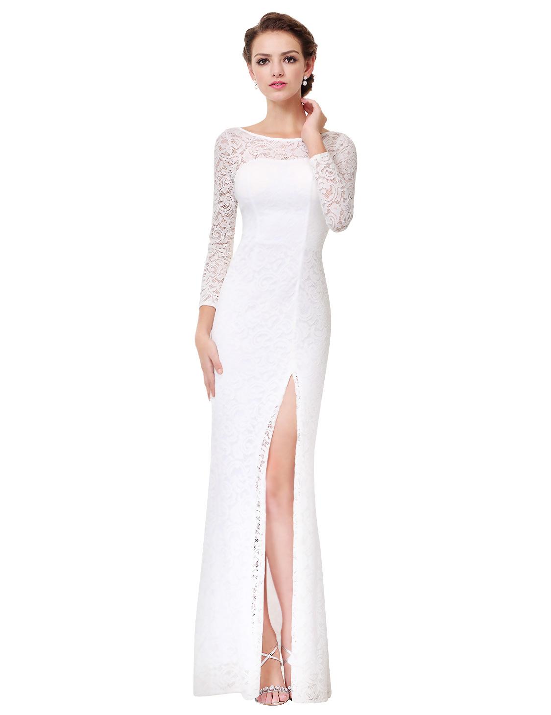 ac82ec9edd5a Ever Pretty plesové a společenské šaty bílá