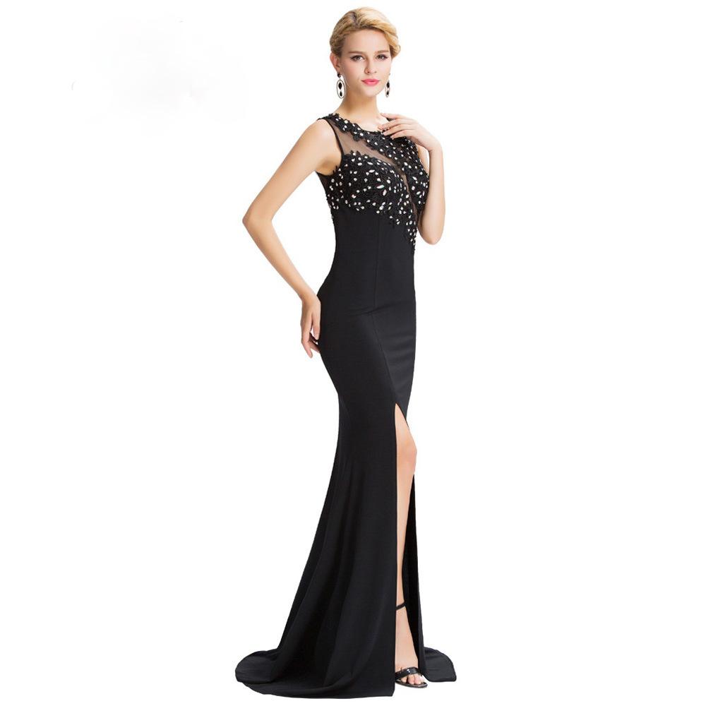 34dbce14f18c Dámské luxusní plesové a společenské černá