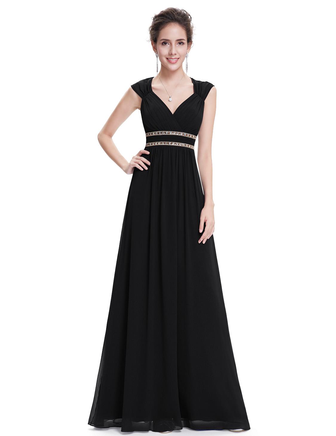 Ever Pretty plesové a společenské šaty 58EV černá ccf4634f8b