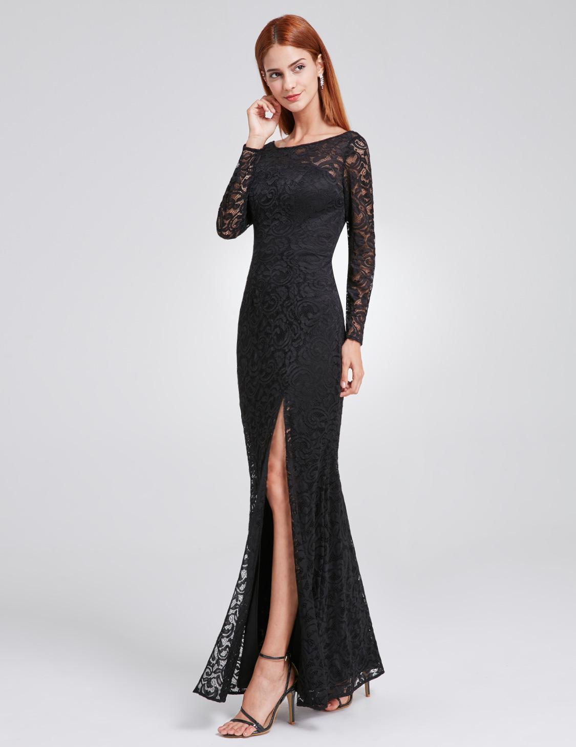 23d753dd808b Ever Pretty plesové a společenské šaty krajkové 93EV černá