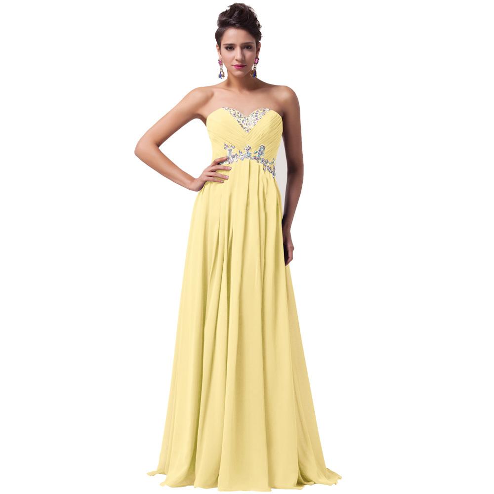Plesové šaty žlutá fca31b28def
