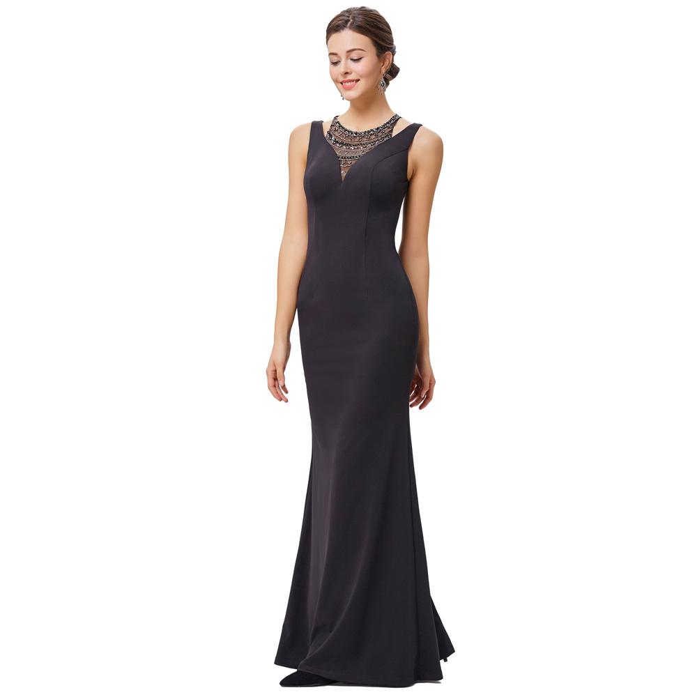 9095269eb8c5 Večerní dlouhé šaty s korálky