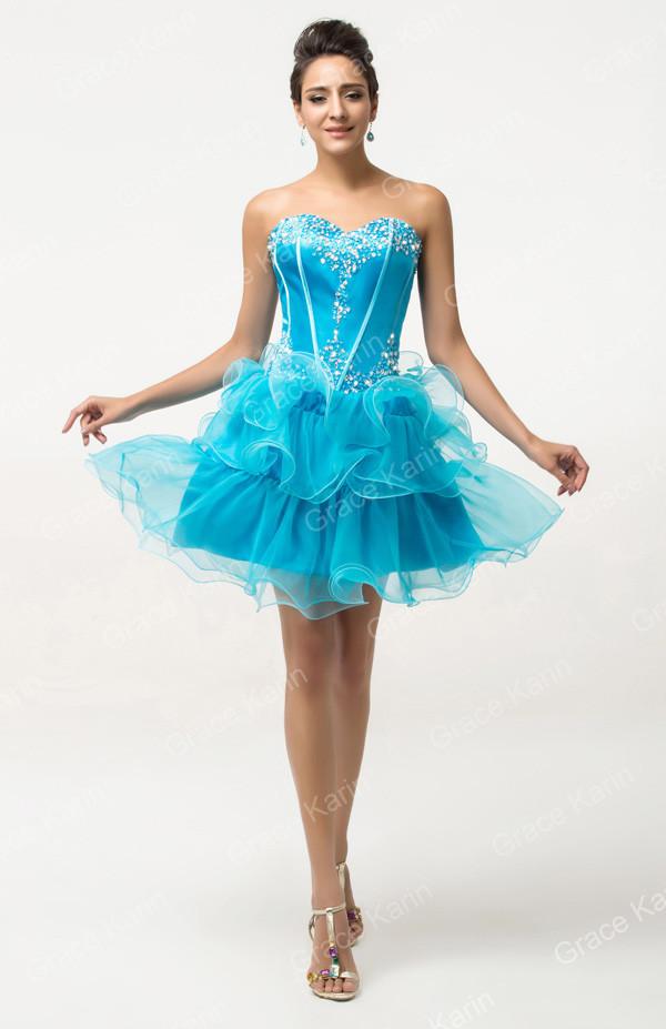 0b5264954c3e Luxusní společenské šaty modrá