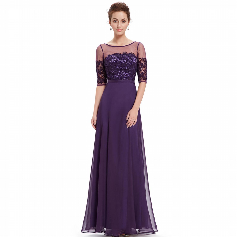 Ever Pretty společenské šaty fialová 6d685f2959