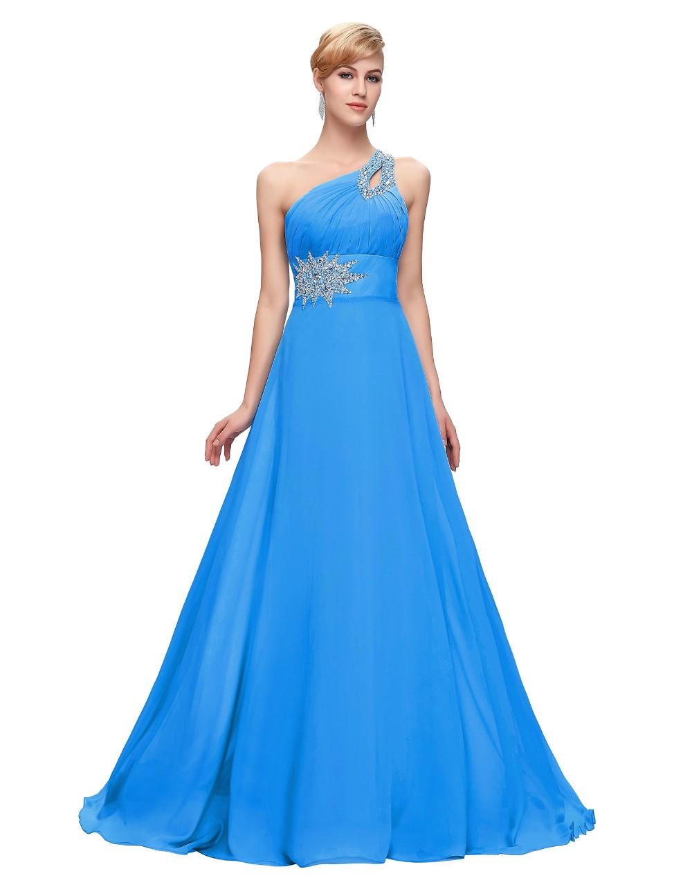 Luxusní plesové a společenské dlouhé šaty modrá cb03b6311c