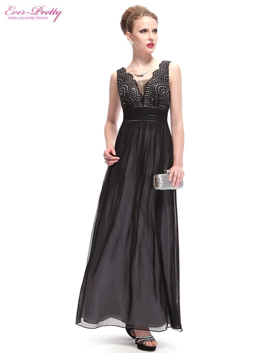 1ce96faca626 Ever Pretty plesové dlouhé šaty černá