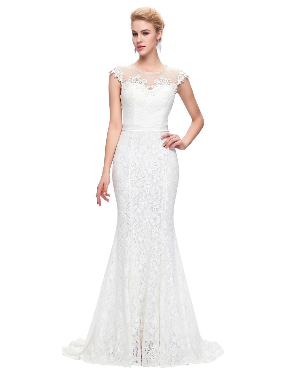 3afd3ec7264c Dámské plesové a společenské šaty krajkové bílá