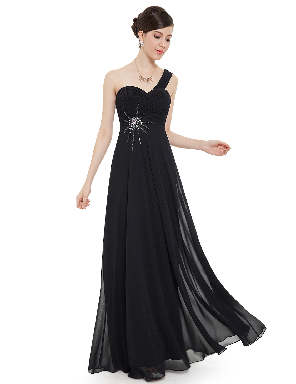 Plesové a společenské šaty Ever Pretty černá (Dámské šaty)