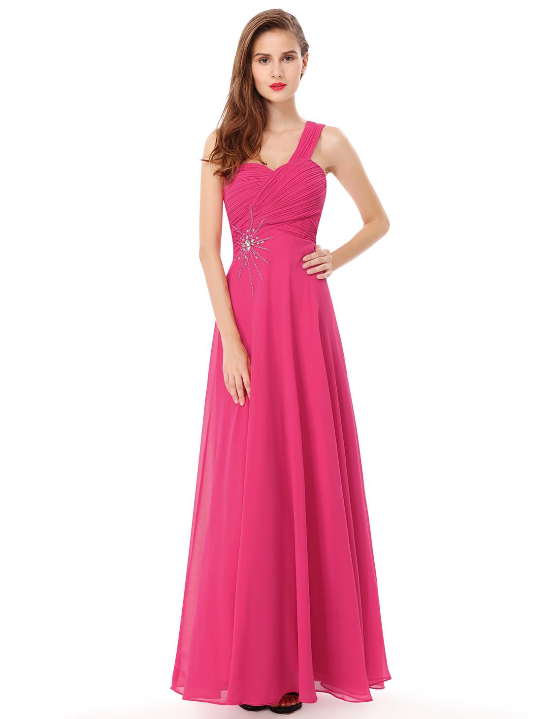 Plesové a společenské šaty Ever Pretty růžová (Dámské šaty)