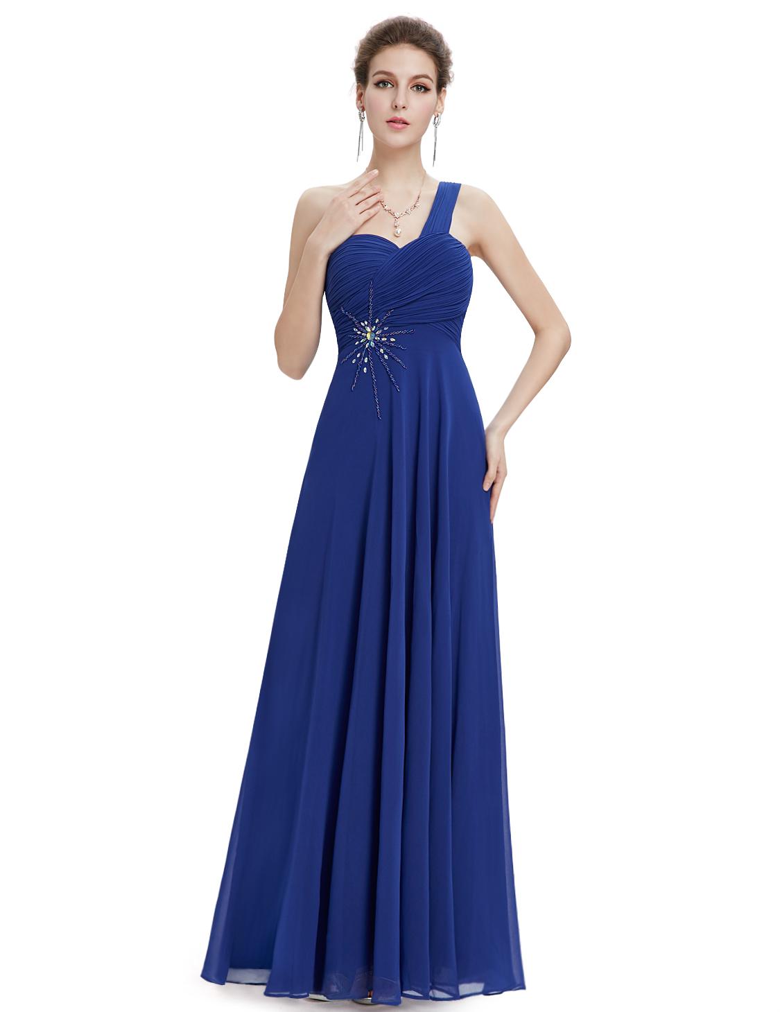 Plesové a společenské šaty Ever Pretty modrá (Dámské šaty)