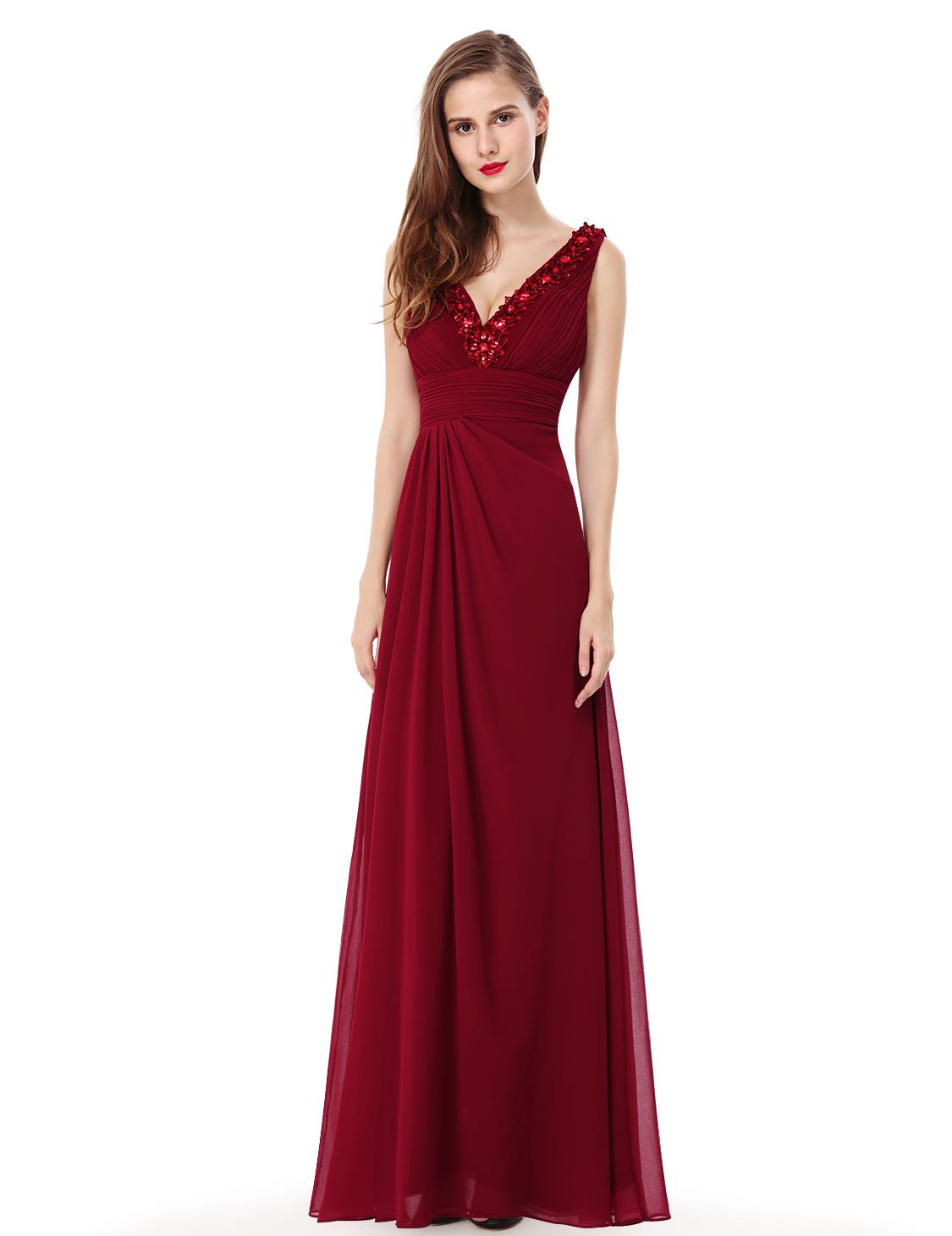 Ever Pretty plesové a společenské šaty 24EVHE08103RD06 (Dámské šaty)
