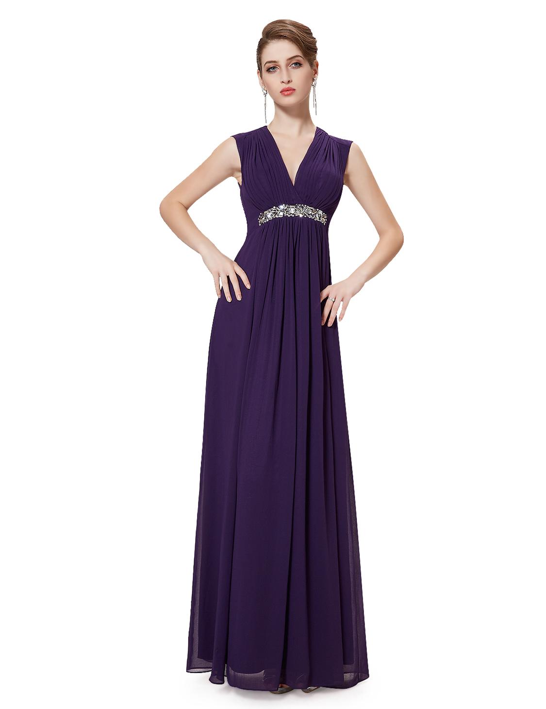 Ever Pretty dámské plesové a společenské šaty HE08220PP fialová (Dámské šaty)