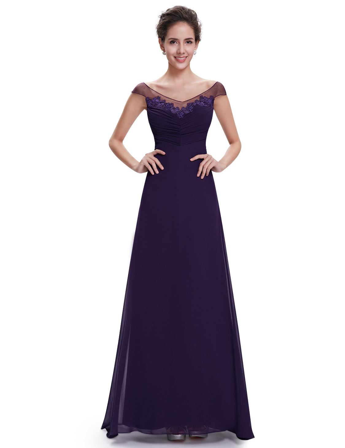 Plesové a společenské šaty Ever Pretty fialová (Dámské šaty)