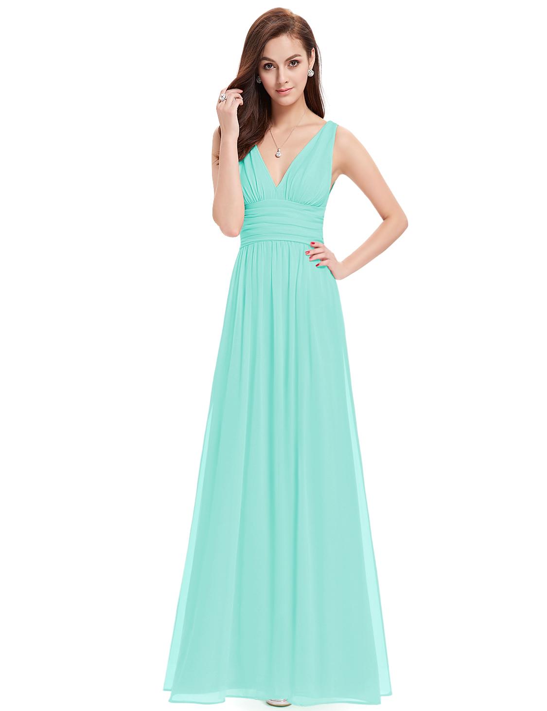 Ever Pretty plesové a společenské šaty 27EVHE09016BL (Dámské šaty)