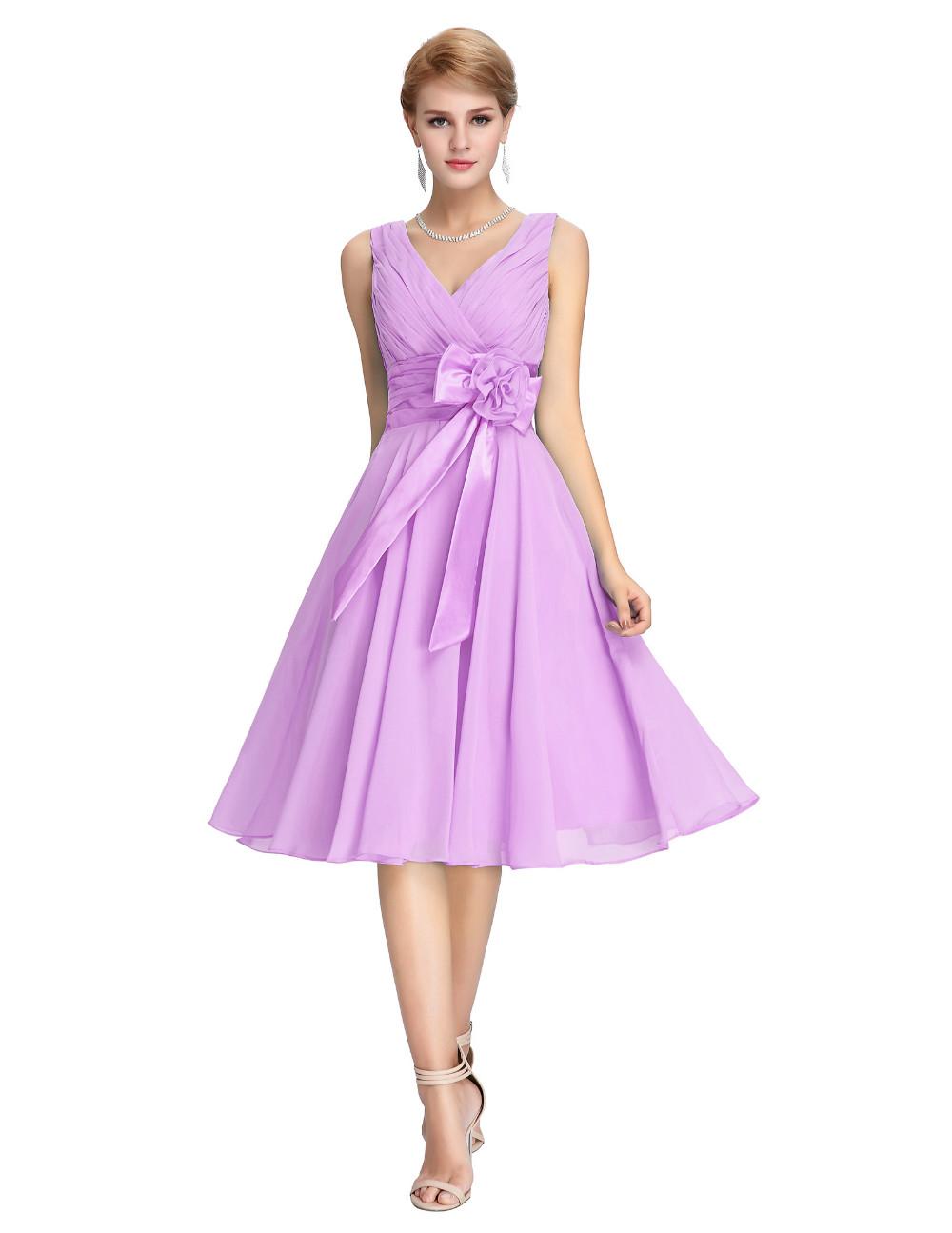 a519788442fb Krátké koktejlové šaty fialová