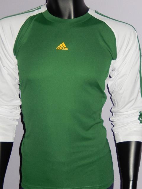 ADIDAS chlapecké tričko zelené (Chlapecké tričko)