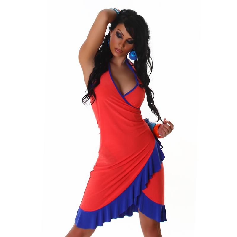Letní šaty Jela London - apricot (Dámské šaty)