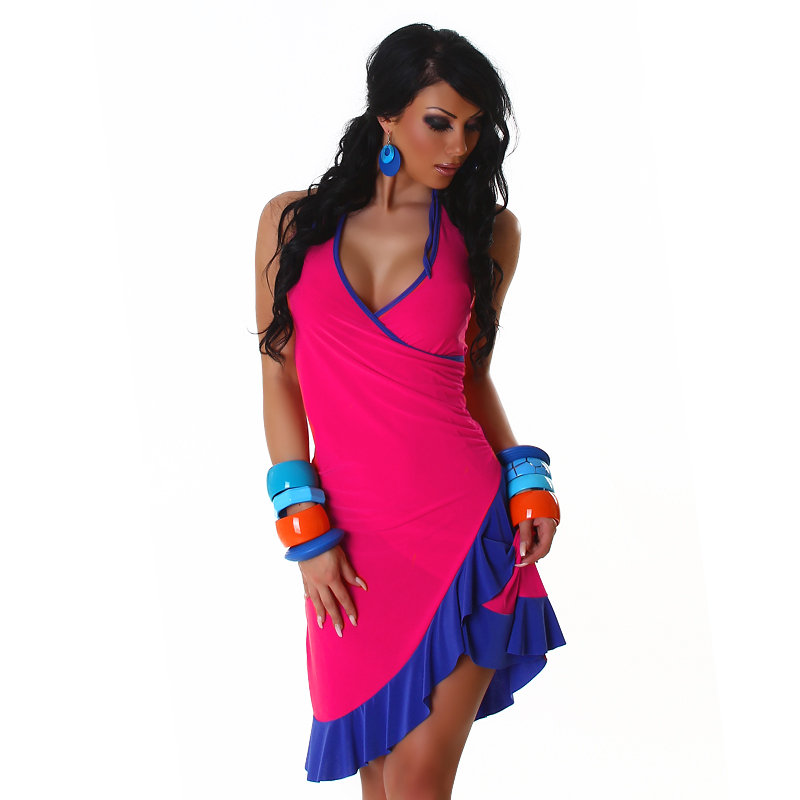 Letní šaty Jela London - růžová (Dámské šaty)